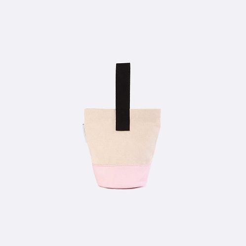 ROMY - White/Pink Canvas