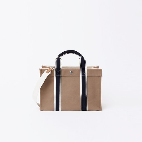 MINI TOTE - Beige Canvas