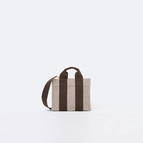 TOTE XS - Light Brown Flannel
