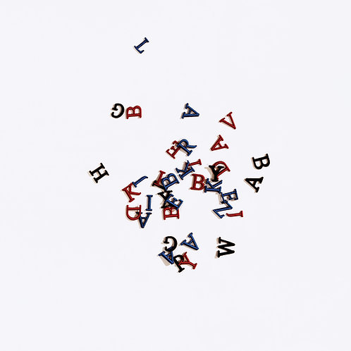 CUSTOM INITIALS - 3 Letters