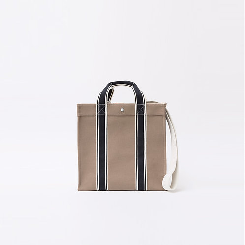 COURSE TOTE - Beige Canvas