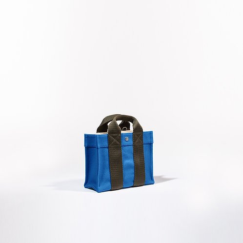 TOTE XS - Pale Blue Flannel