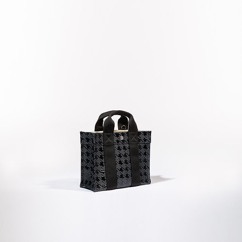 TOTE XS - Black Houndstooth