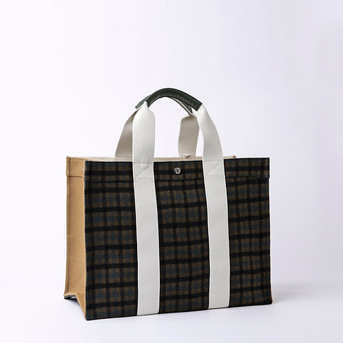 TOTE EXTRA LARGE -  Plaid