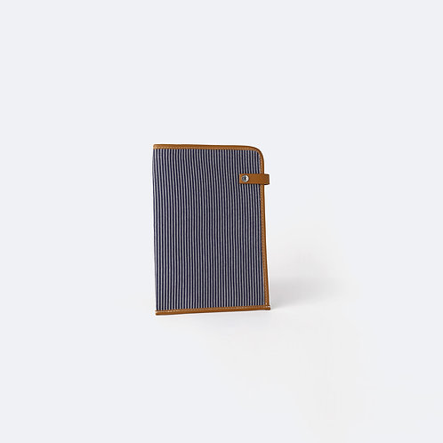 DOCUMENT COVER - Navy Fine Stripes