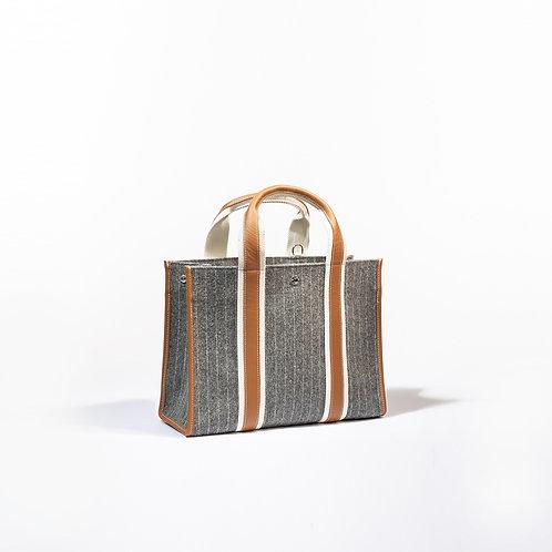 UPPER EAST M - Grey Striped Flannel