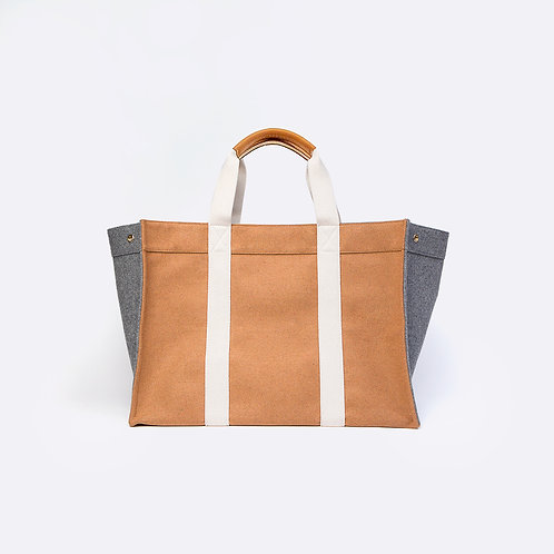 TOTE XL - Camel Flannel