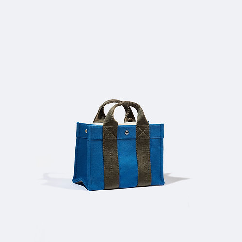 TOTE S - Sky Blue Flannel