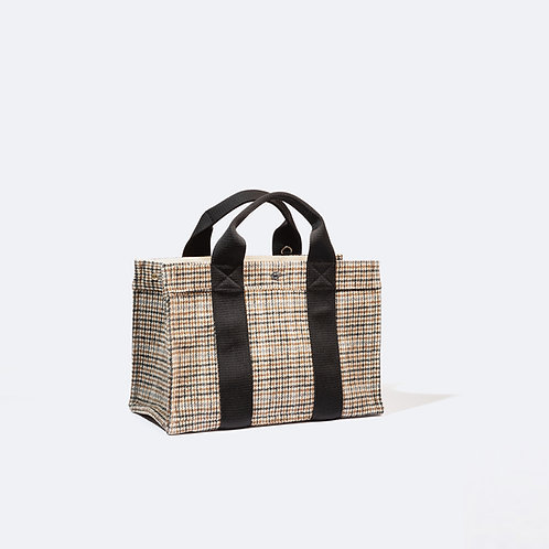 TOTE M - Camel  Houndstooth