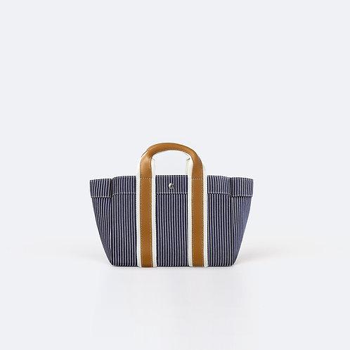 PARCOURS S - Navy Fine Stripes