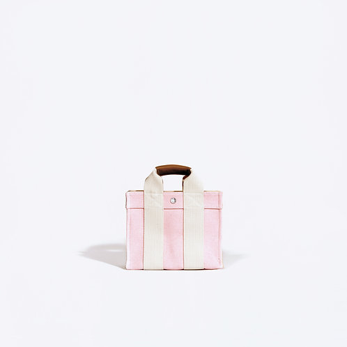 TOTE XS- Pink Oxford