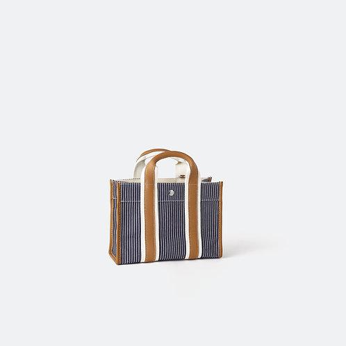 TRAVELLER XS - Navy Fine Stripes