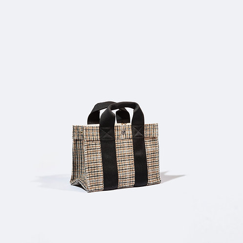 TOTE S - Camel  Houndstooth