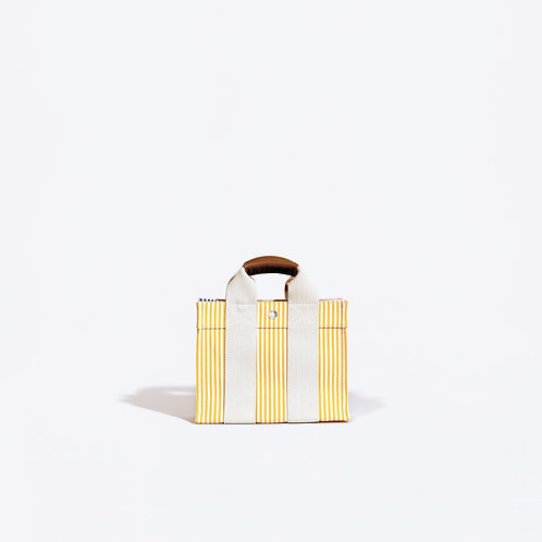 BABY TOTE - Yellow Stripes