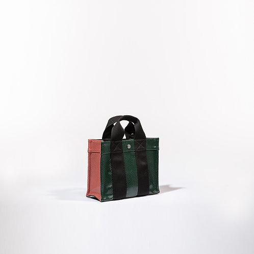 TOTE XS - Green Python