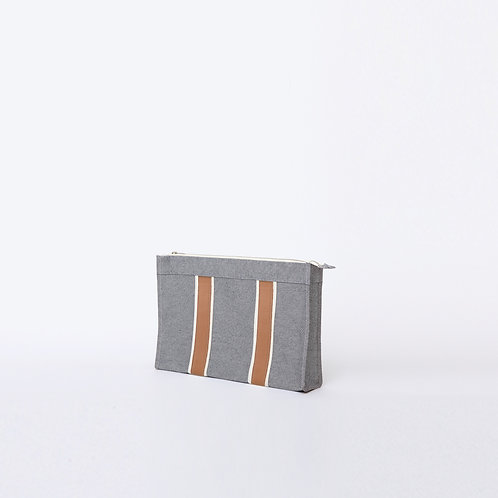 DOCUMENT POUCH - Navy Oxford