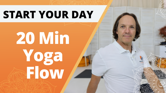20 Min Yoga stretch to wake up and Energise  | Start Your Day