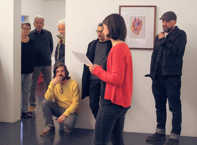 Vernissage, Einführung mit Julia Schallberger & Daniel Bracher