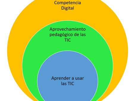 Del uso de las TIC al desarrollo de la Competencia Digital