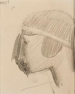 Nadelman.(Woman in Profile).jpg