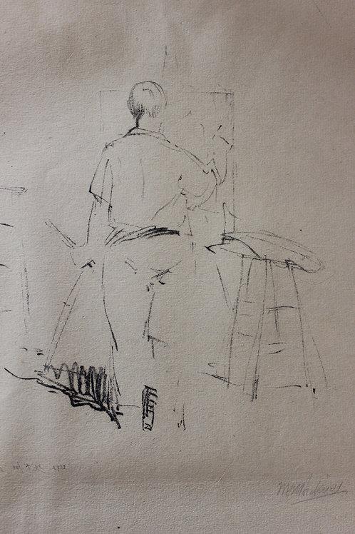 Charles Hawthorne by William Bicknell