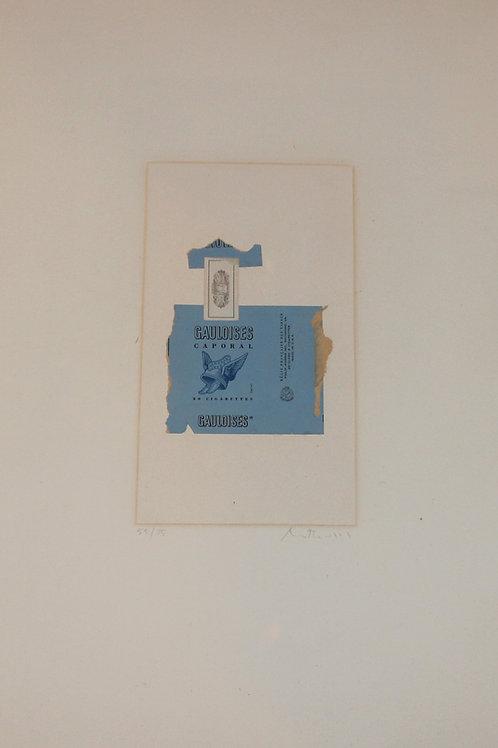 Gaulosies by Robert Motherwell (1968)