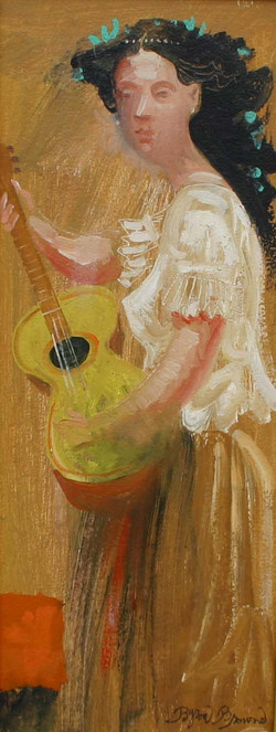 'Woman with Guitar'