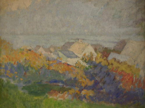 Rooftops by Charles Webster Hawthorne
