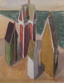 '#10 Beachside Cottages, Sunny Day'