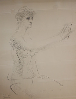 Untitled [Nude Drawing]