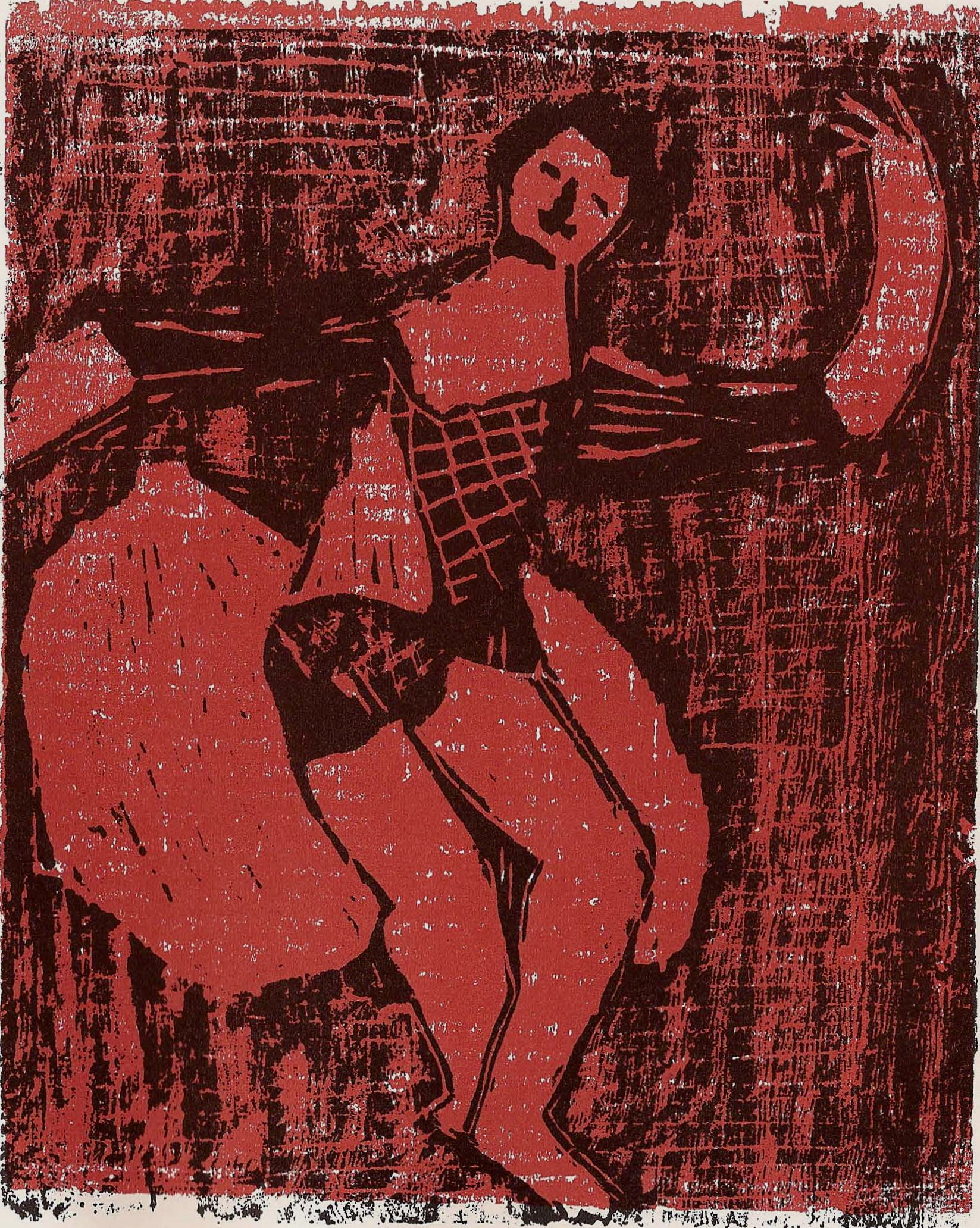 'Dancer in Red'