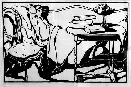The Reader (1920)  by Mildred McMillen