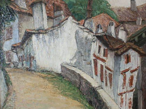 Vielles Maisons Basques by Oscar Gieberich