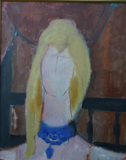 """""""Portrait of a Blonde Woman"""""""