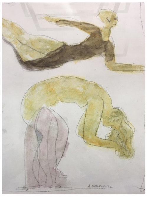 Isadora Duncan Dancers by Abraham Walkowitz