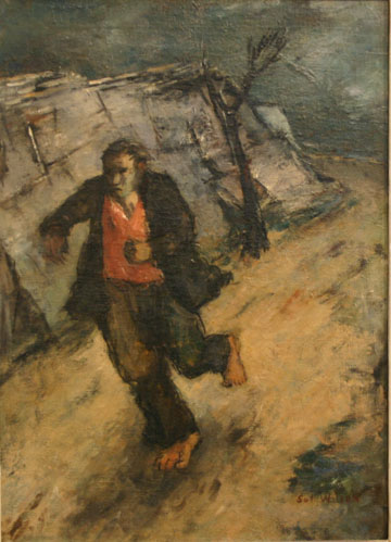 Sol Wilson - Running  Man - 22x16 - 6500
