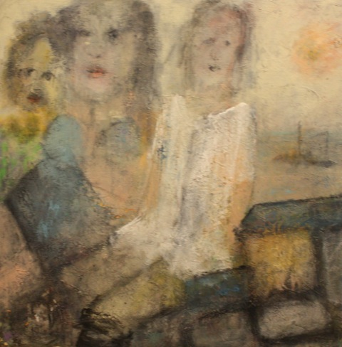 'Girls on a Jetty'