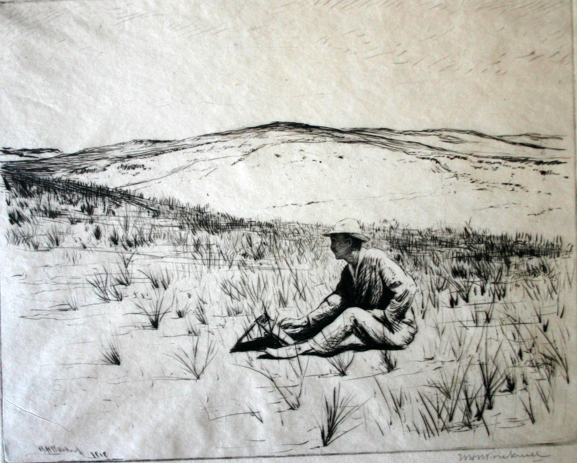 Bicknell.Self-Portrait Sketching.jpg