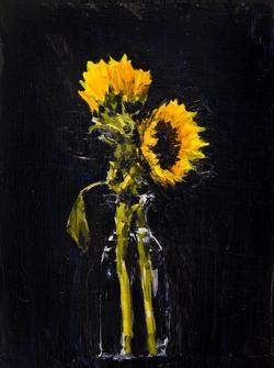 Shattuck.Two Sunflowers