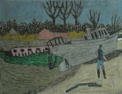 'Boat Ashore'
