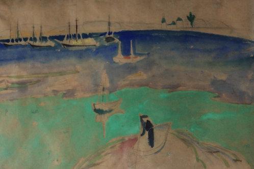 Provincetown 1916 by William Zorach