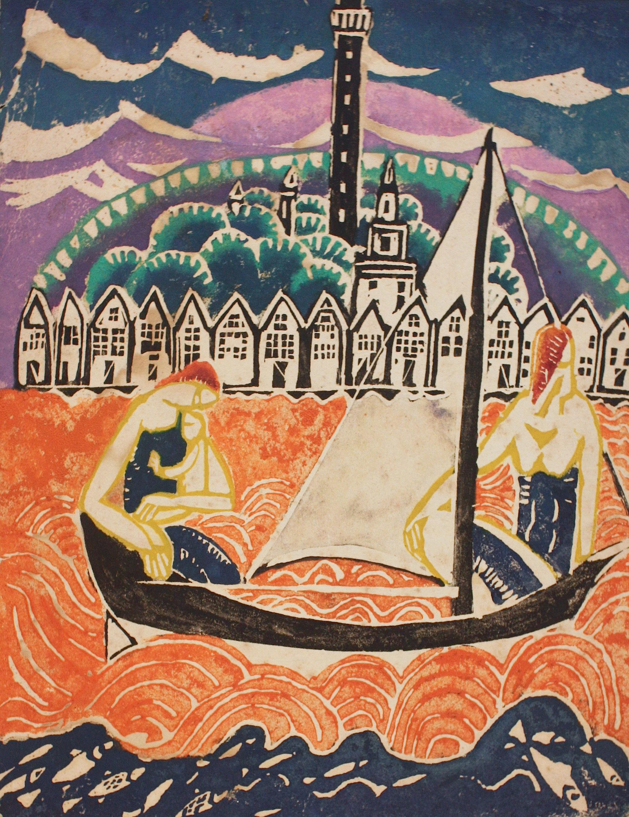 """Sailing, Provincetown"""