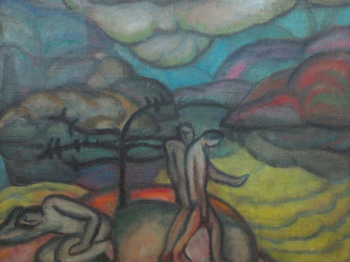 The Expulsion by Marguerite Zorach