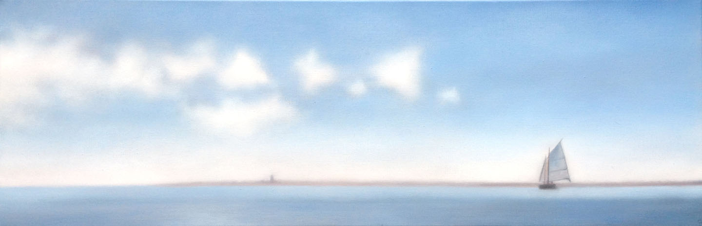 'Harbor with Blues'