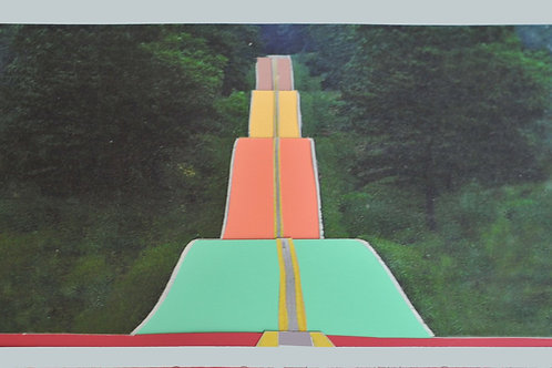 Undulating Road (2013) by Jay Critchley
