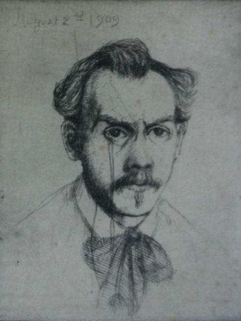Self Portrait by BJO Nordfeldt