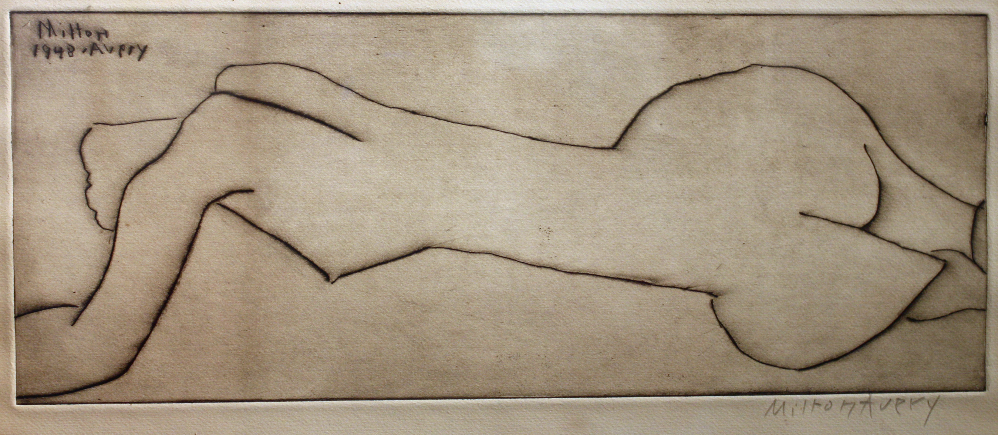 'Nude with Long Torso'