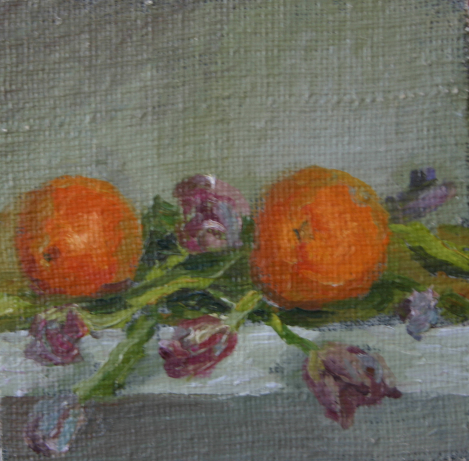 'Oranges and Flowers'
