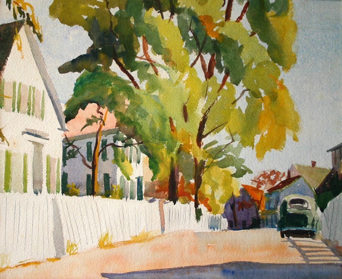 Rayner.Provincetown Street