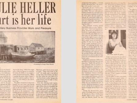 Julie Heller - Art is Her Life